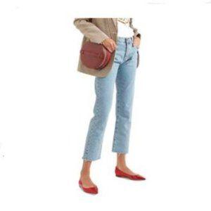 XYD Pointy Toe Slip On Flats Pumpsfor Women Paten